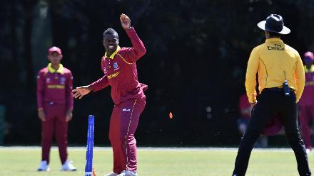 Royal strikes consecutively in double wicket maiden against Ireland