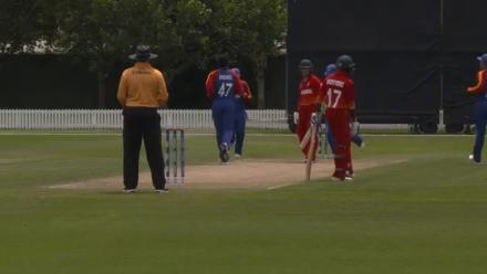 Zimbabwe U19s lose Dollar cheaply on second ball against Namibia
