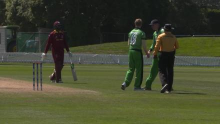 Sharp c&b from Ireland's Topping finishes Yadram for 53