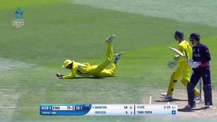 Innings Highlights: England collapse for 96, chasing just 128 against Australia at U19CWC