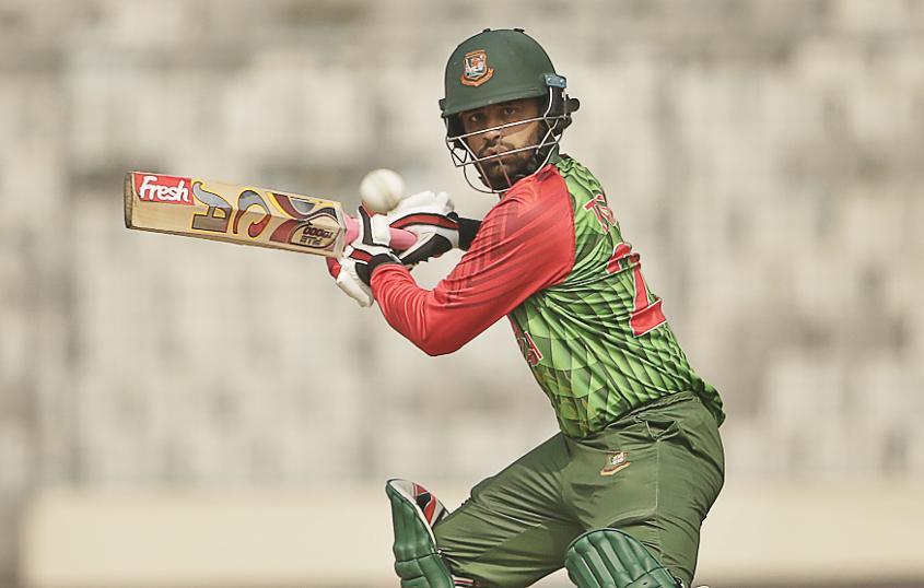 Tamim Iqbal scored his third half-century in consecutive innings