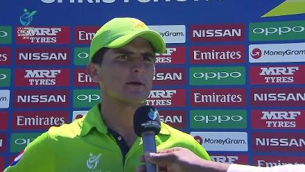 Shaheen Afridi talks after Pakistan restrict South Africa to 189/9