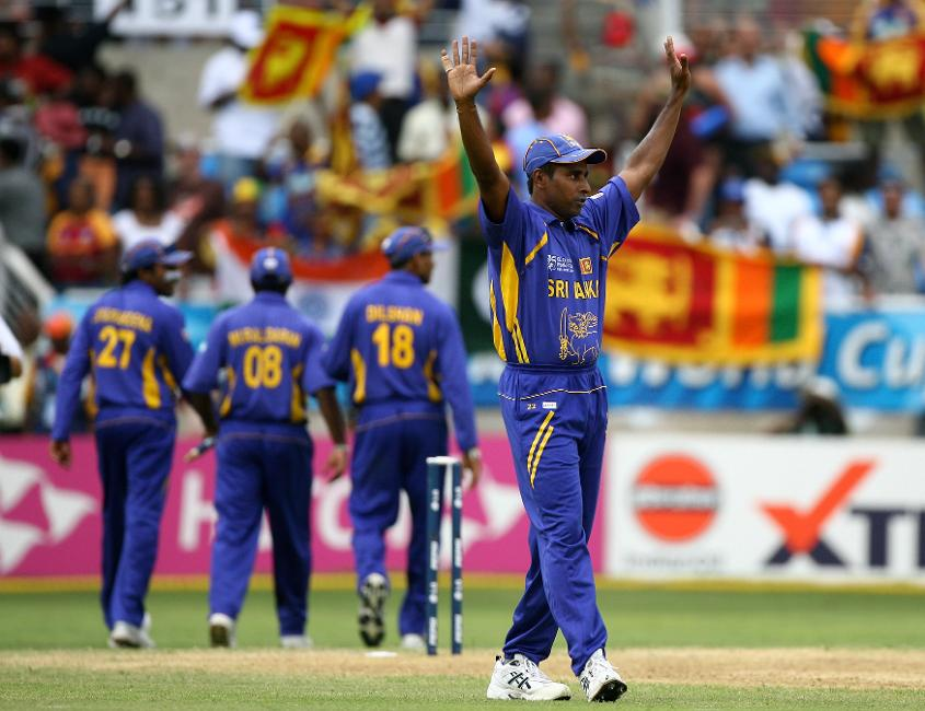 Vaas' last World Cup appearance came at the Final in 2007