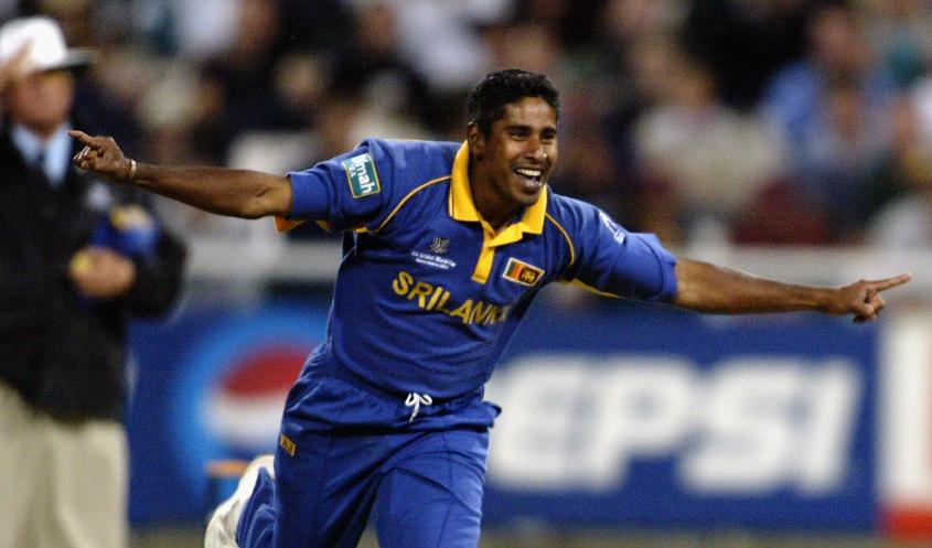 Vaas was the leading wicket-taker at the 2003 ICC Cricket World Cup