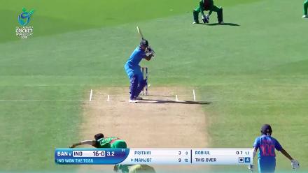 How Bangladesh dismissed India for 265 at U19CWC
