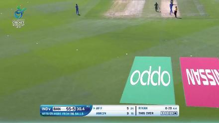Batting highlights from the Bangladesh innings