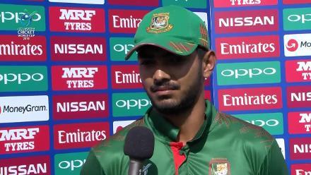 Post-match interviews after India beat Bangladesh in the U19CWC quarter-finals