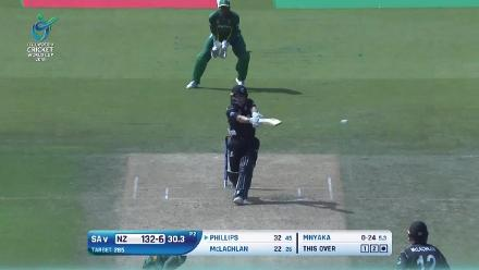 New Zealand innings highlights in the U19CWC 5th place play-off semi-final