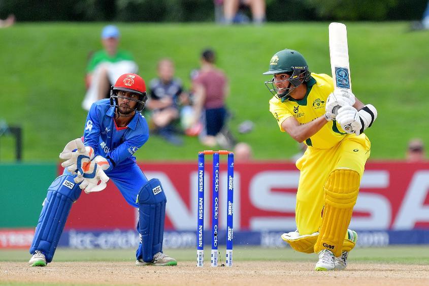 Australia captain Jason Sangha made 26 runs in his side's successful run-chase