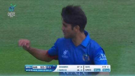 Australia innings highlights from their comfortable chase against Afghanistan for a place in the U19CWC Final