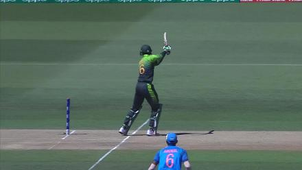Imran Shah is the second to fall against India, caught by Shaw off Porel