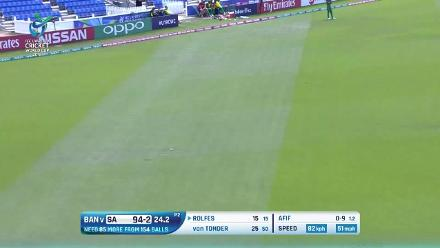 Highlights from South Africa's innings as they chased their total with ease