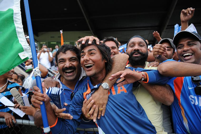 Kamal Passi celebrates 2012 ICC U19 CWC victory with supporters