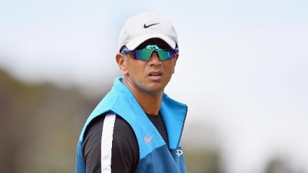 Head Coach Rahul Dravid of India