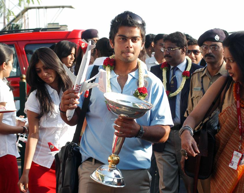 Kohli was already a national hero before he was out of his teens