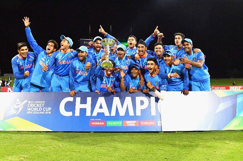 India's triumph at the ICC U19 Cricket World Cup was voted the Fans' Moment of the Year