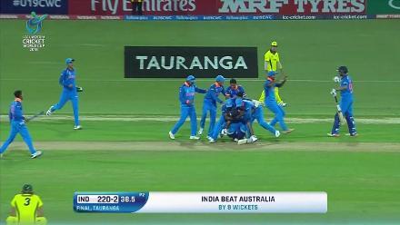 U19CWC POTD - Desai's four to seal the win