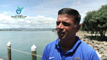 Rahul Dravid speaks after winning the ICC Under-19 Cricket World Cup 2018
