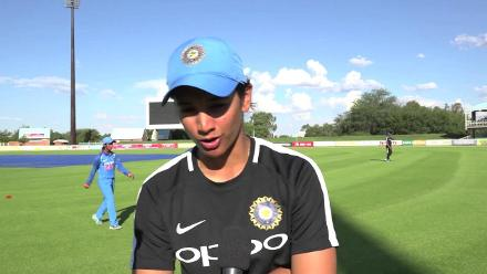 Smriti Mandhana speaks after starring in the first ODI against South Africa Women