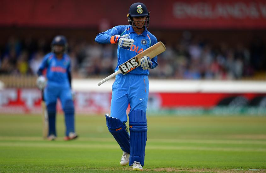 Smriti Mandhana was named Player of the Series but fell for a duck in this match