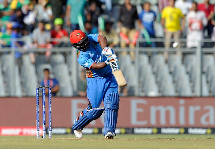 Mohammad Shahzad made a belligerent 75