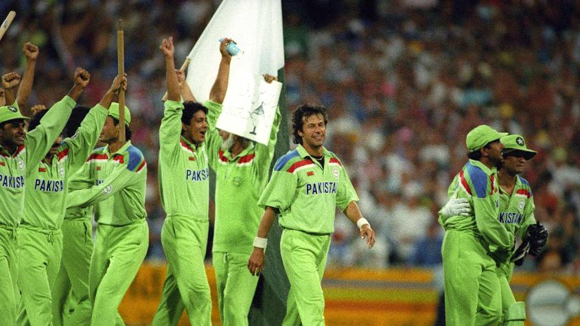 Imran Khan-led Pakistan won the tournament by defeating England in the final