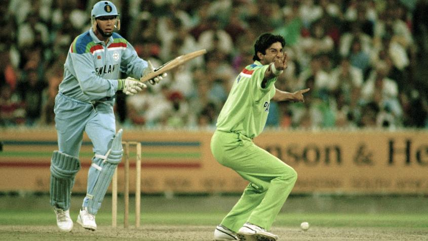 Wasim Akram was the leading wicket-taker of the tournament with 18 wickets