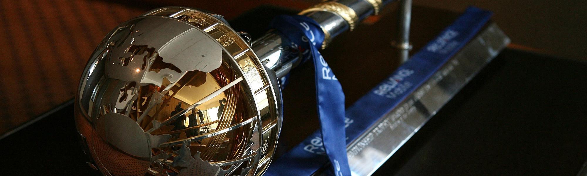 The ICC Test Championship mace
