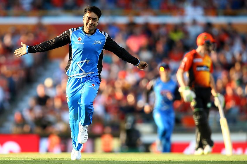 Rashid Khan starred when playing for the Adelaide Strikers in the recently concluded BBL