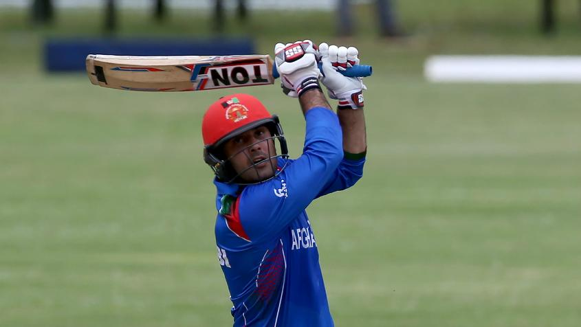 Mohammad Nabi's 82-ball 92 rescued Afghanistan from an early wobble
