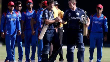 Match 4: Afghanistan v Scotland