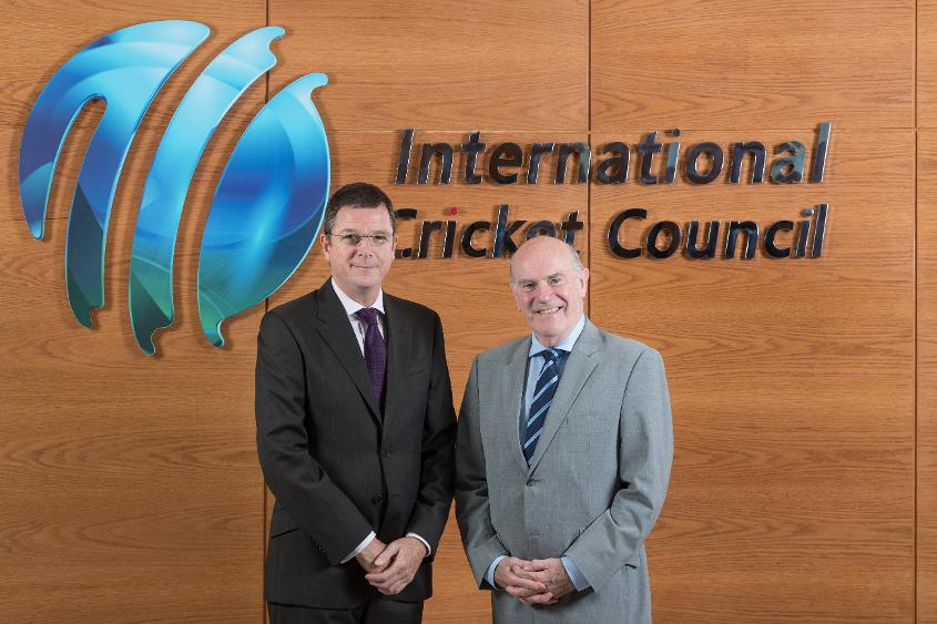 Alex Marshall, General Manager ICC ACU & Sir Ronnie Flanagan, Chairman ICC ACU