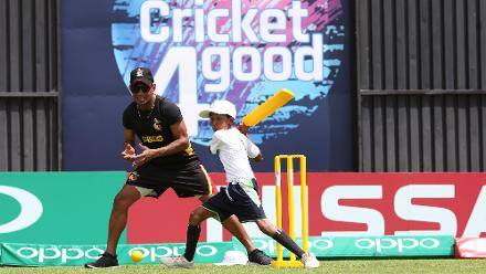 ICC Cricket for Good with PNG, Windies and Zimbabwe