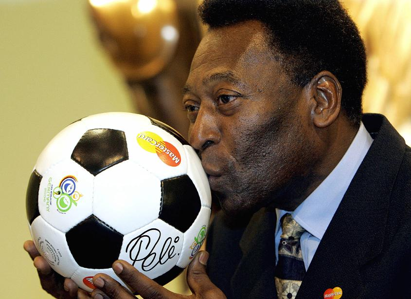 Pelé retired as the all-time leading goal scorer for his country, with 77 goals in 92 games