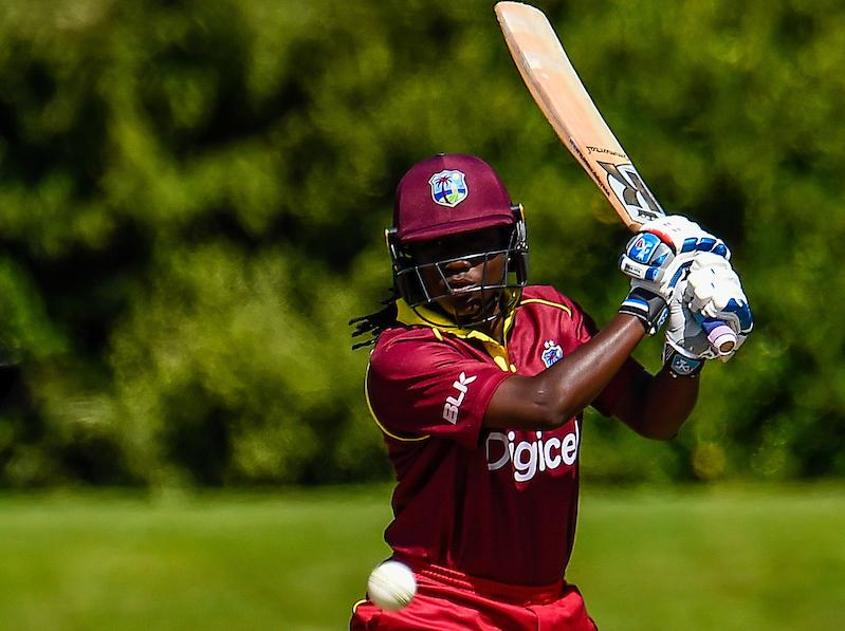 Stafanie Taylor was the top-scorer for Windies Women in the second ODI against New Zealand Women