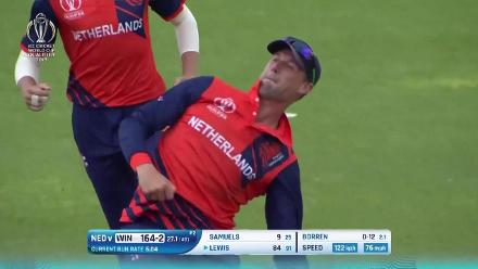 West Indies top shots against the Netherlands