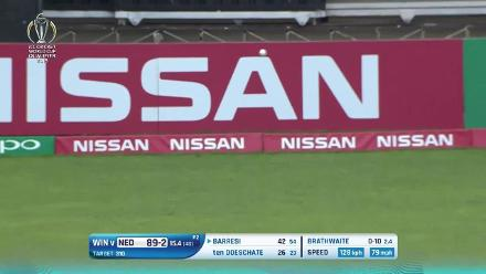 The highlights from Wesley Barresi's innings