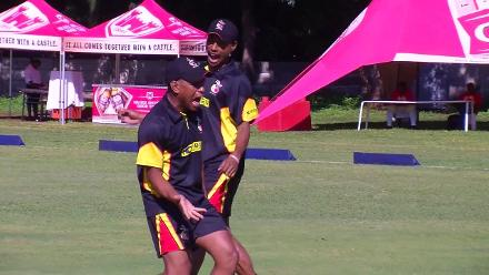 PNG's Kipling Doriga says CWCQ has been a huge learning experience