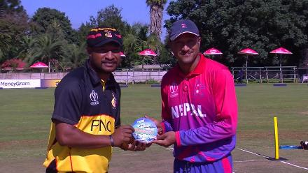 Nepal win toss and put PNG into bat