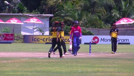 Anil Sah out lbw to Norman Vanua
