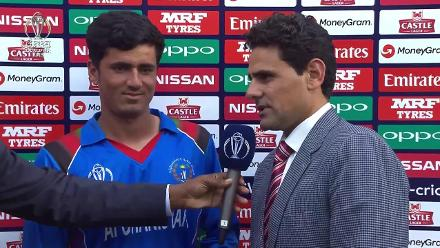 Post-match presentation: West Indies v Afghanistan at CWCQ