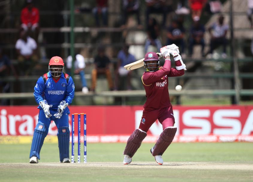 Marlon Samuels scored 36 in 64 balls with two fours