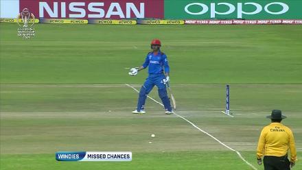 Windies missed chances against Afghanistan