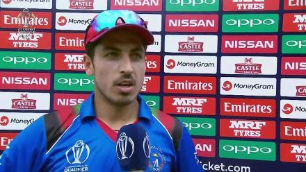 Sharafudddin Ashraf talks after Afghanistan restrict West Indies to 197/8