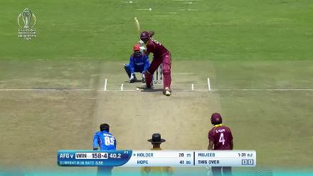 How the Windies wickets fell against Afghanistan at CWCQ