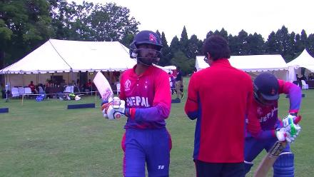 Nepal take to the field with the bat to chase 115 to beat PNG