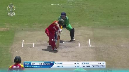 Zimbabwe set Ireland a target of 212 to win in the CWCQ Super Six