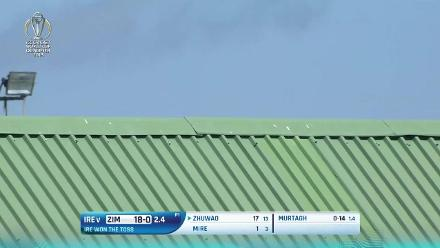 CWCQ POTD - Zhuwao hits a six onto the roof!