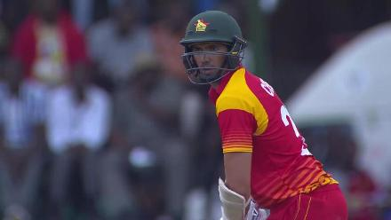 CWCQ POTD - O'Brien bowls a beauty to get Cremer