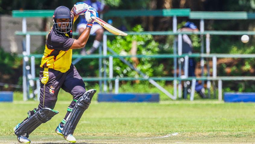 Tony Ura top-scored for PNG with a fluent 49
